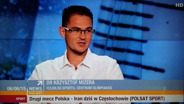dieta sportowca - Krzysztof Mizera