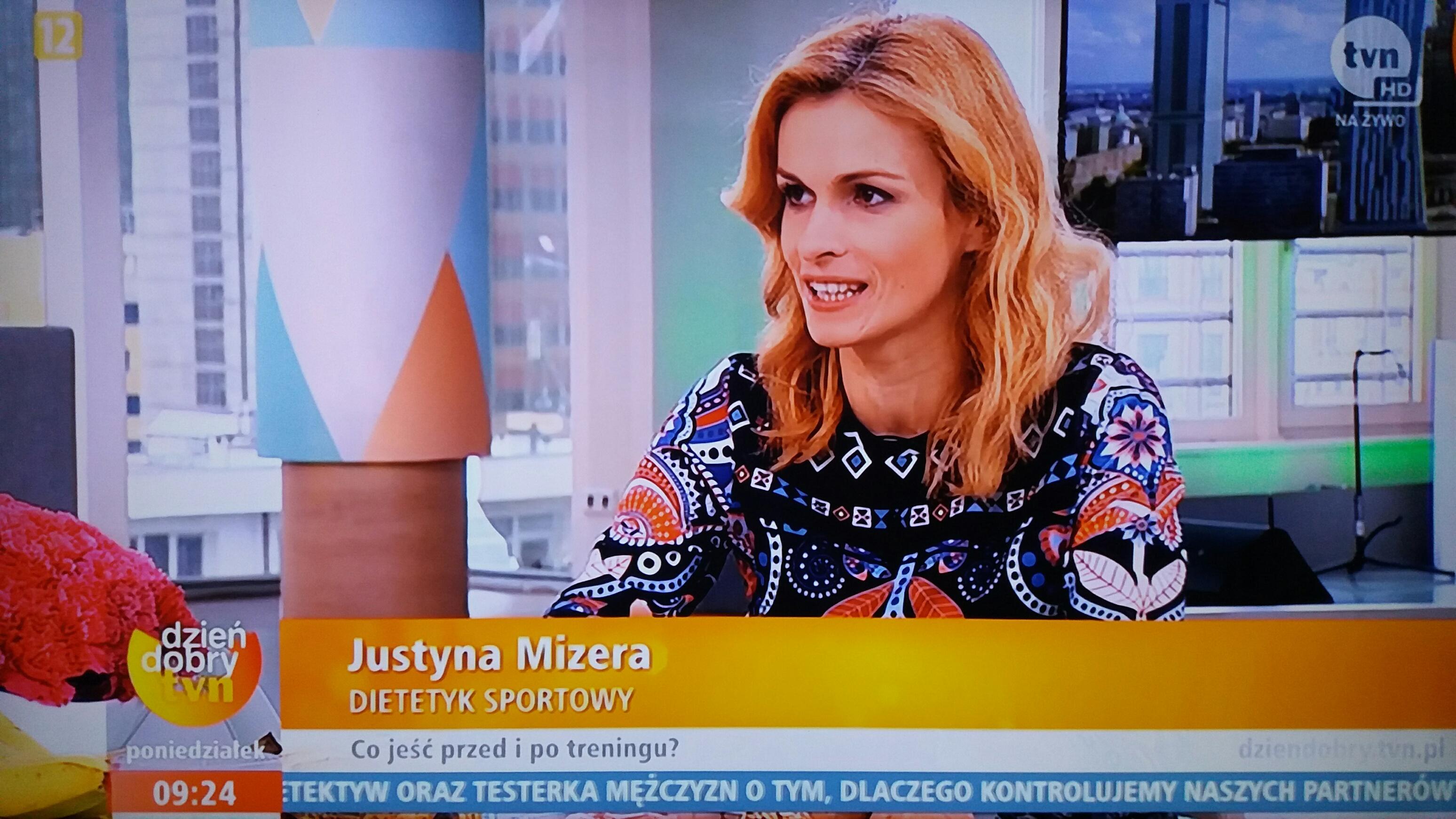 Justyna Mizera TVN