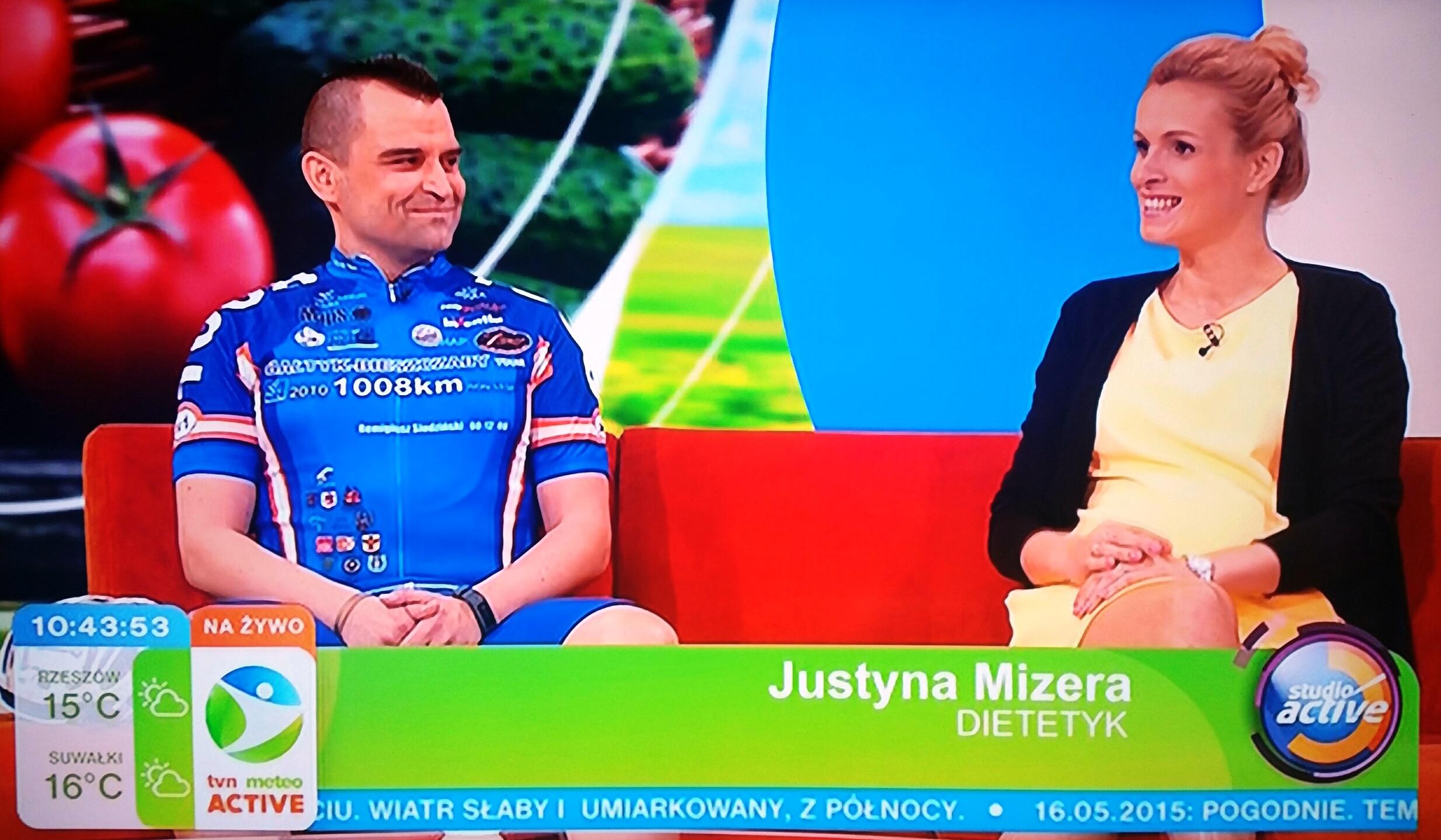 Justyna Mizera - dieta kolarzy