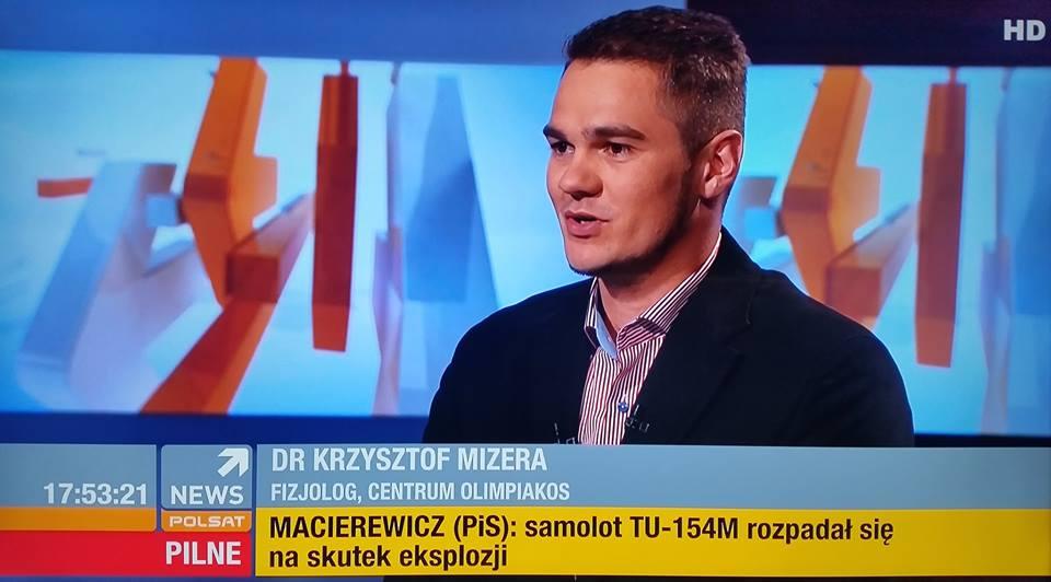 Krzysztof Mizera dietetyk gwiazd