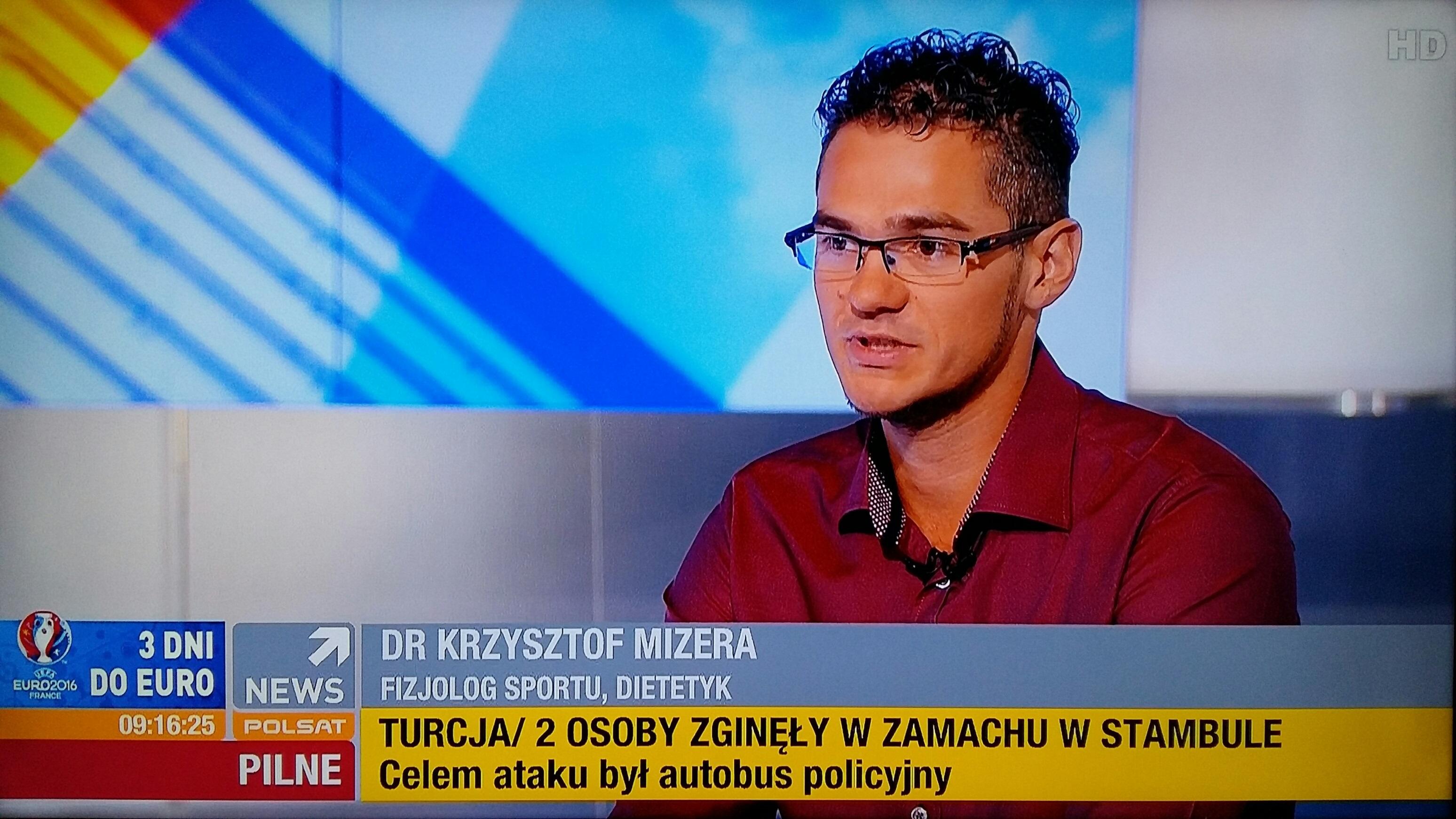 dietetyk sportowy Krzysztof Mizera