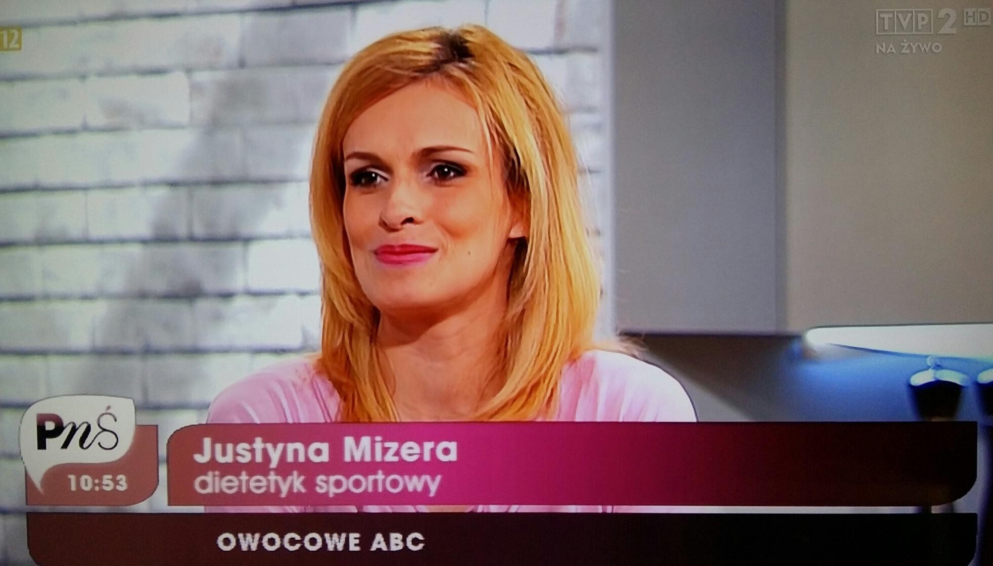 Justyna Mizera dietetyk TVP