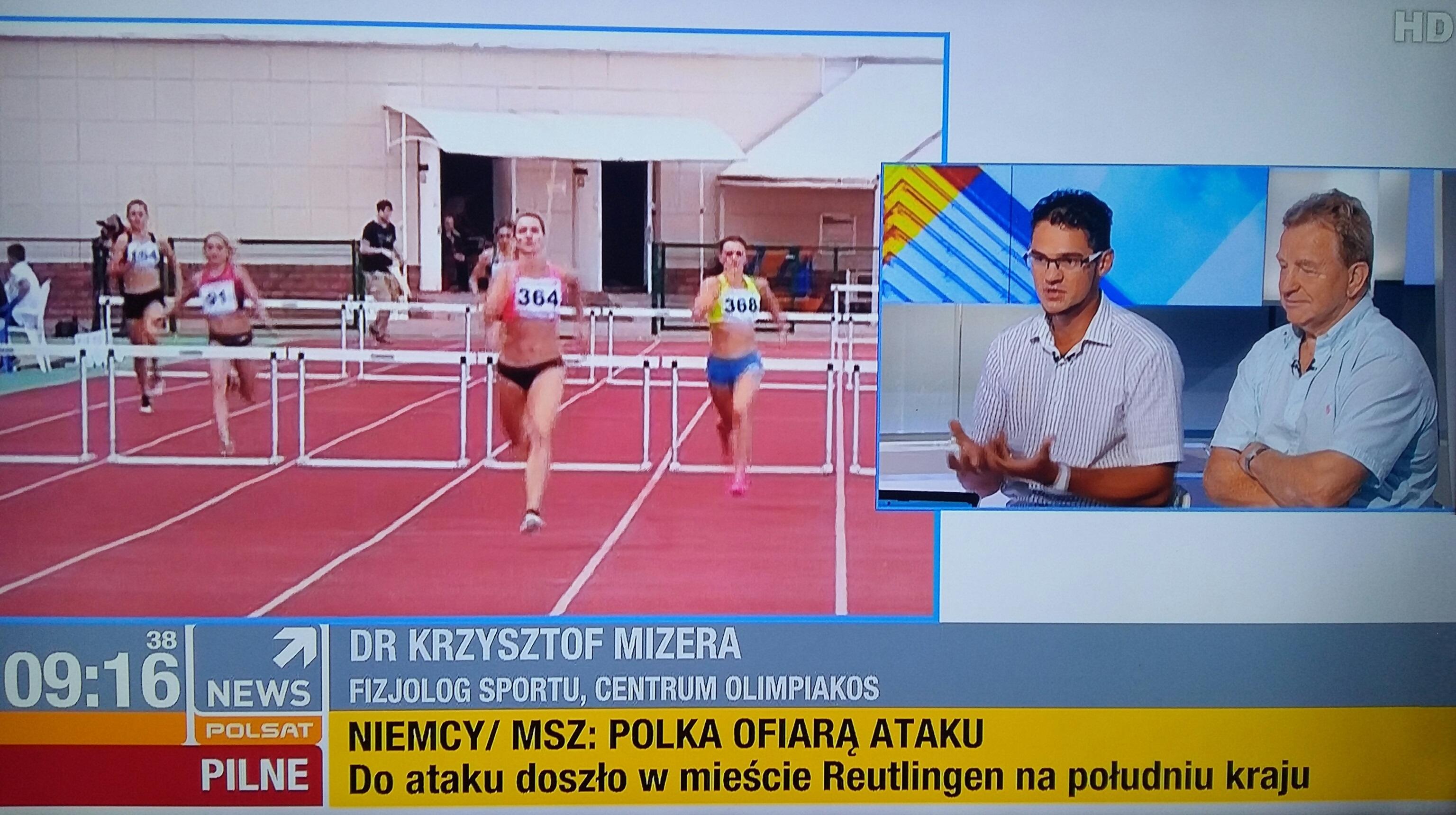 Krysztof Mizera o dopingu w sporcie - Rio 2016