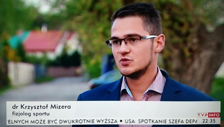 Krzysztof Mizera dietetyk Legii
