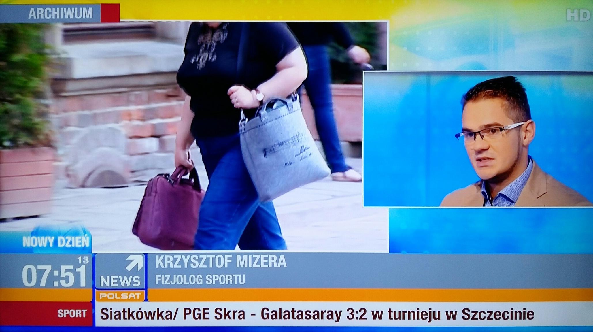 Krzysztof Mizera dietetyk sportowy Warszawa