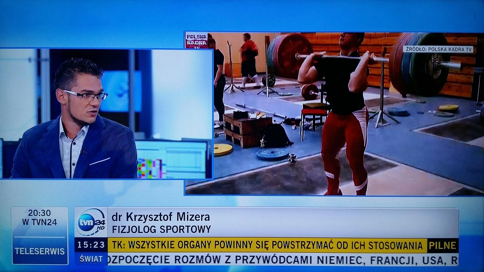 Krzysztof Mizera - fizjolog, dietetyk sportowy