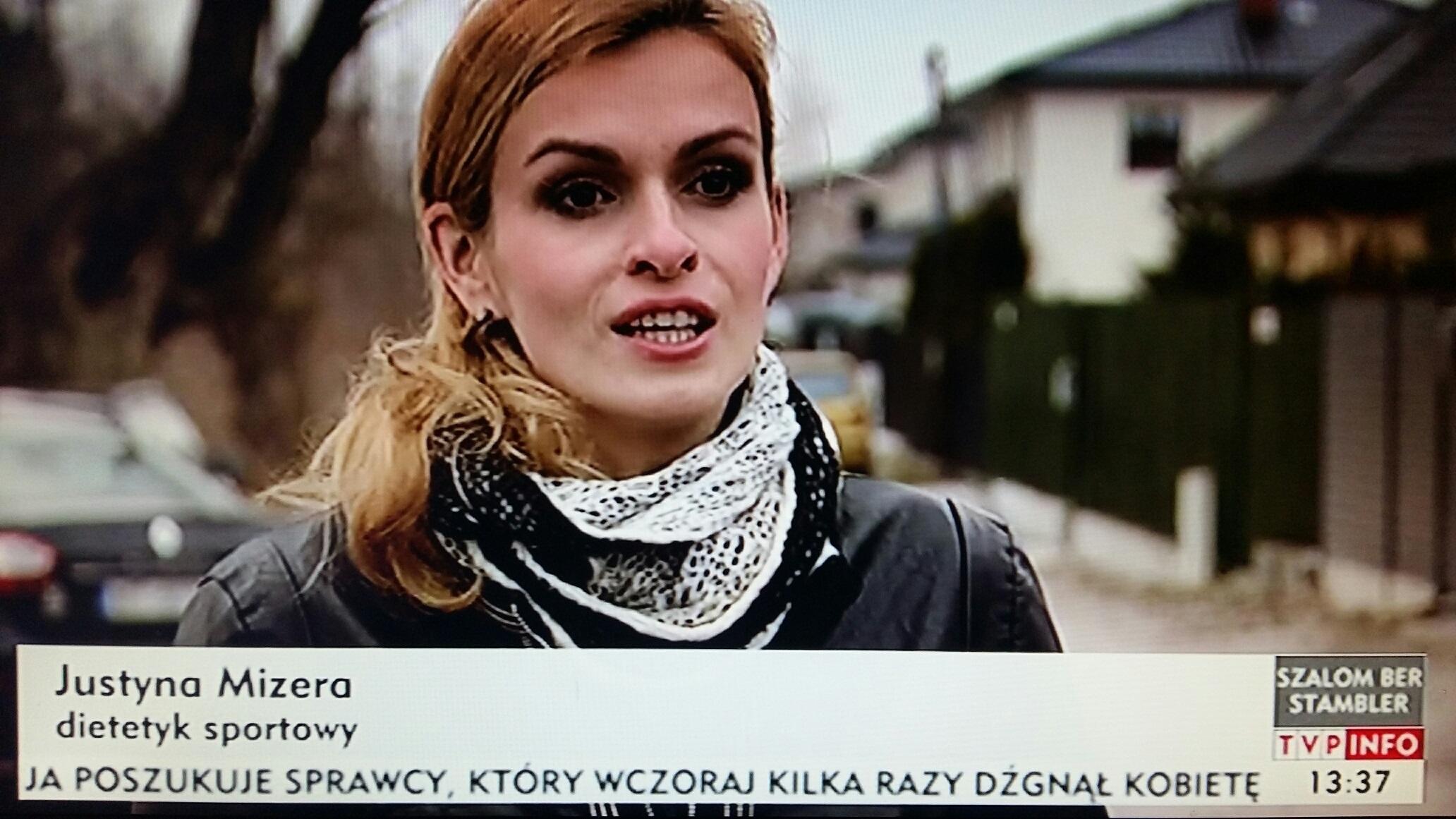 Sportowy dietetyk Justyna Mizera