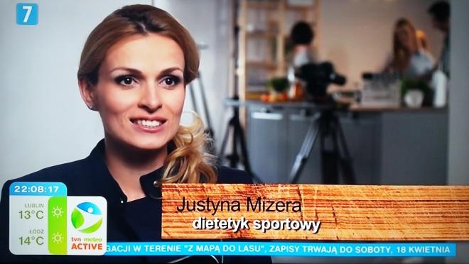 dietetyk sportowców Justyna Mizera