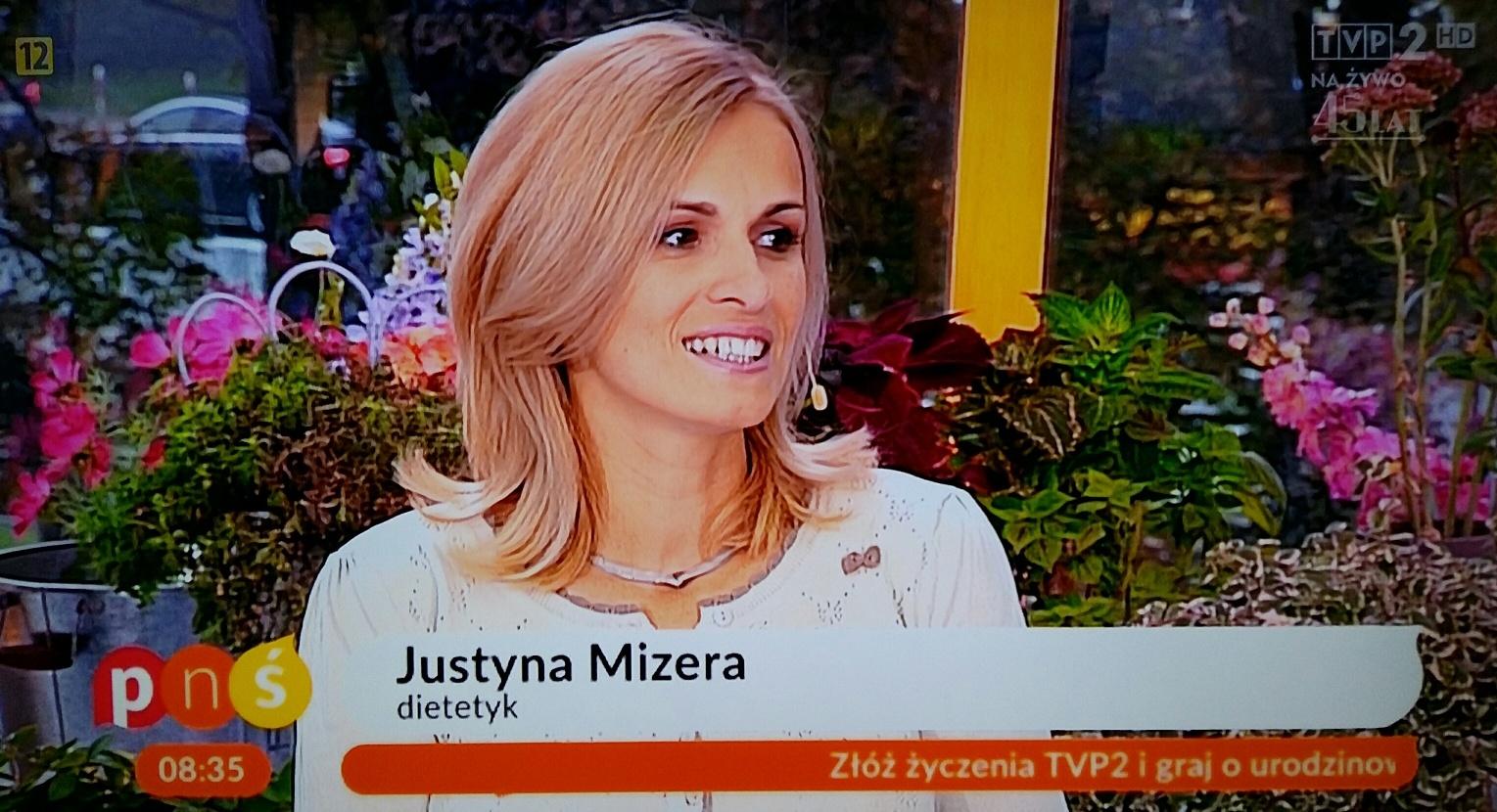 dietetyk sportowy Częstochowa - Justyna Mizera