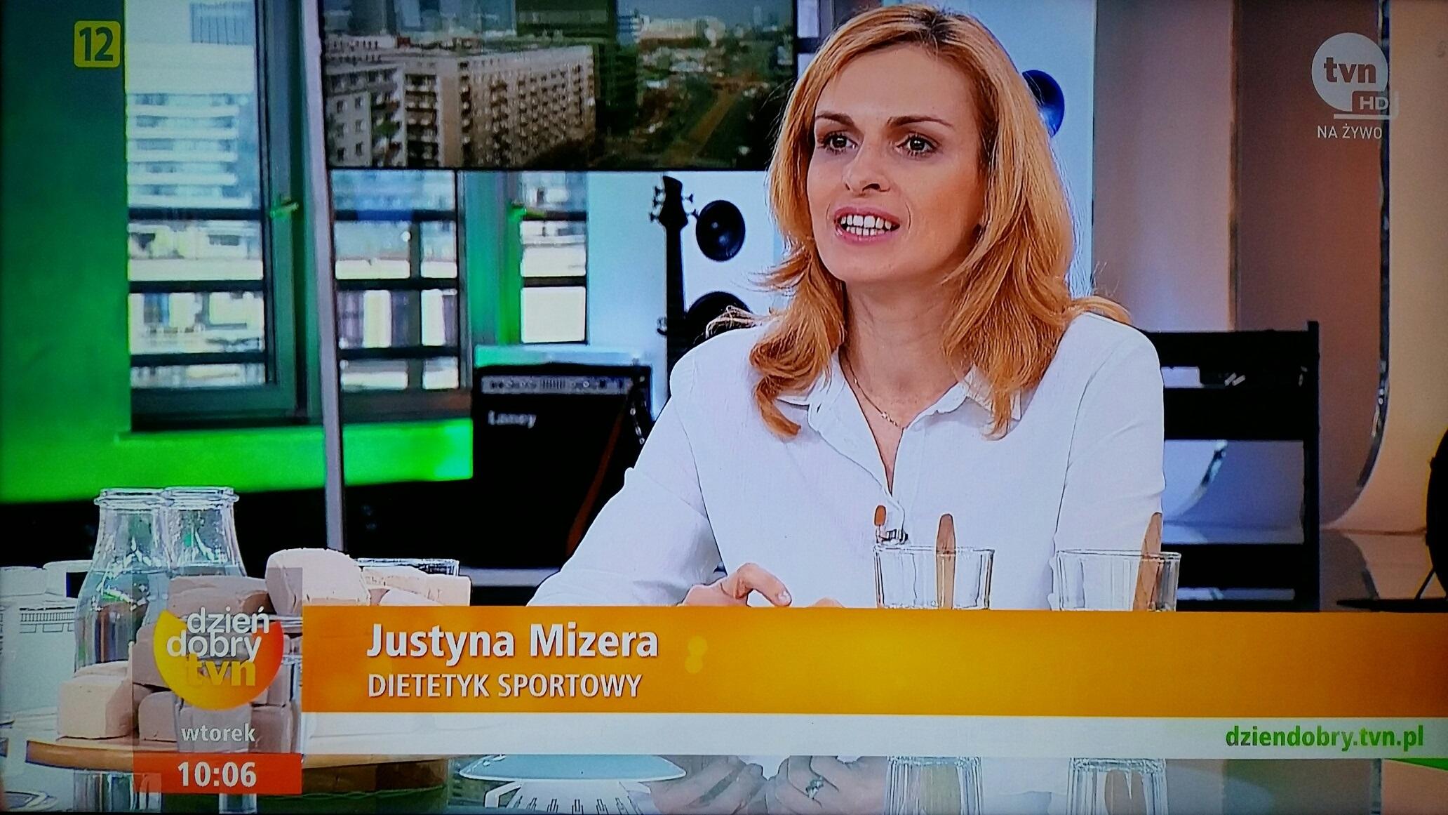dietetyk sportowy Mizera Justyna TVN