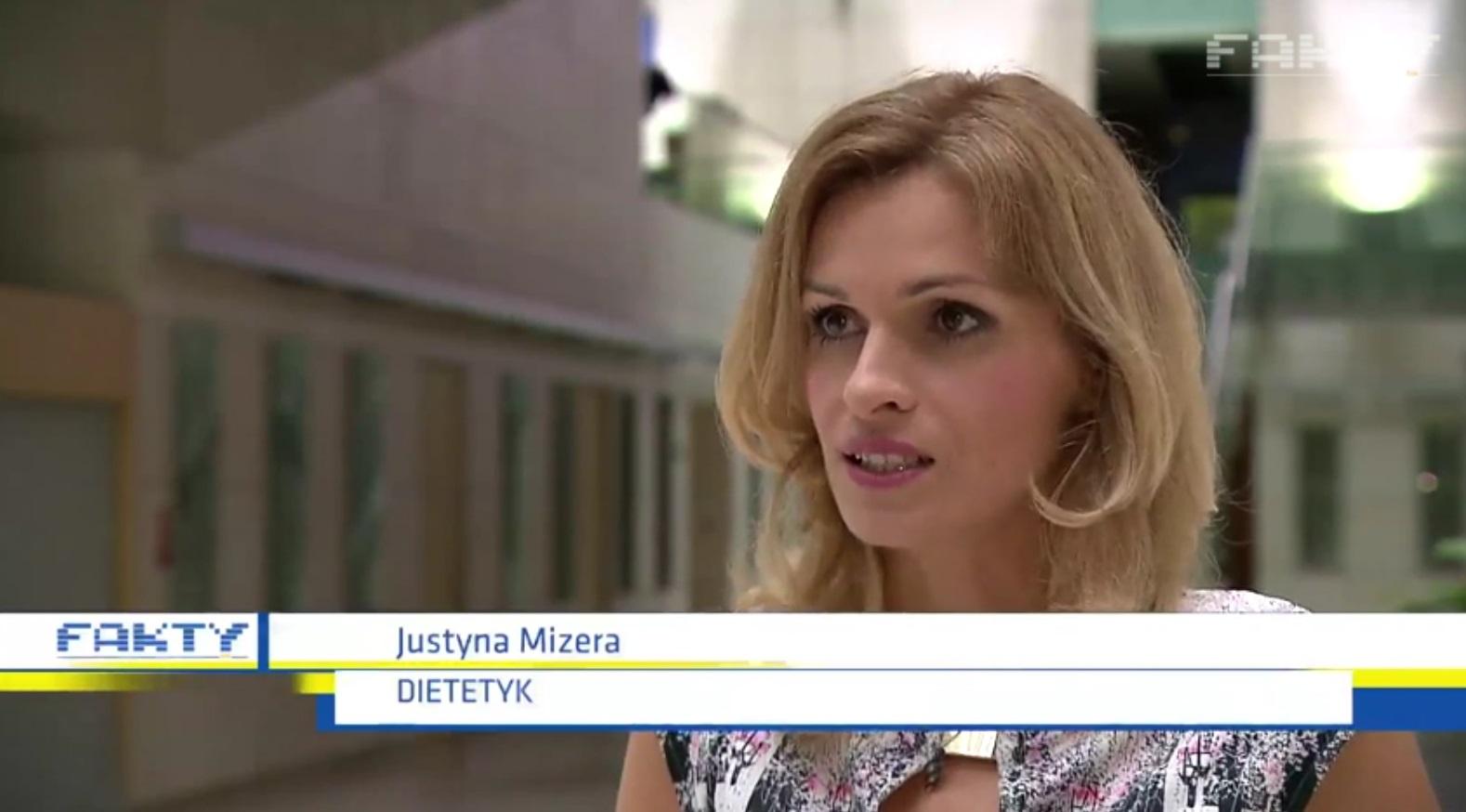 dietetyk sportowy Warszawa Justyna Mizera