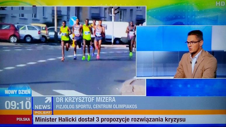 fizjolog sportu K.Mizera
