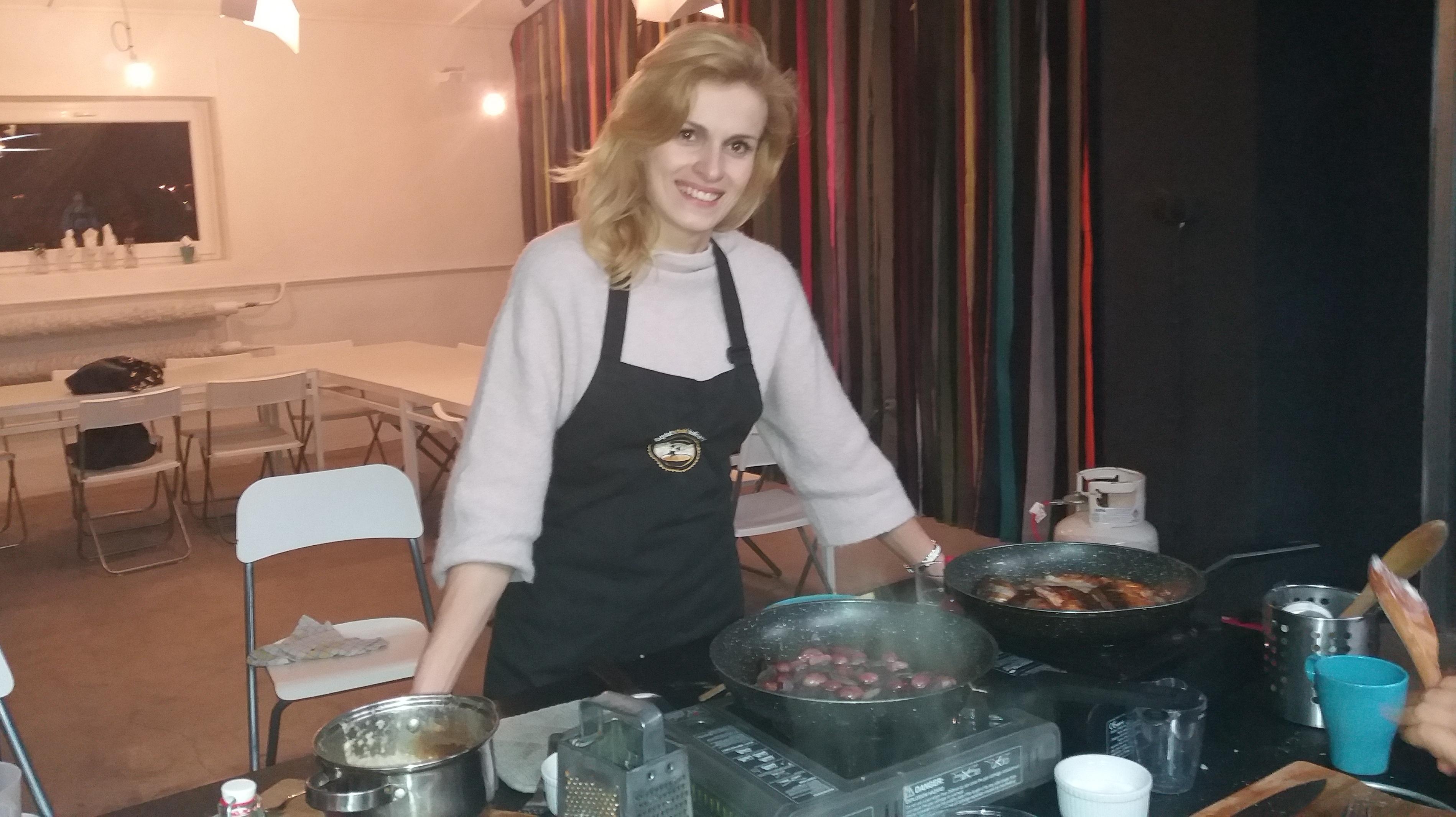 warsztaty kulinarne warszawa Justyna Mizera